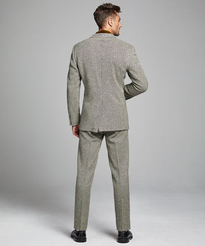 Herringbone Sack Suit Jacket