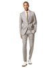 Prince of Wales Tropical Wool Sutton Suit Jacket in Grey Alternate Image