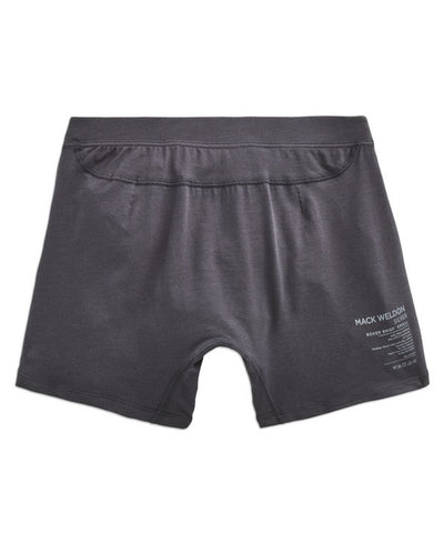 Mack Weldon Silver Boxer Brief in Stealth Grey