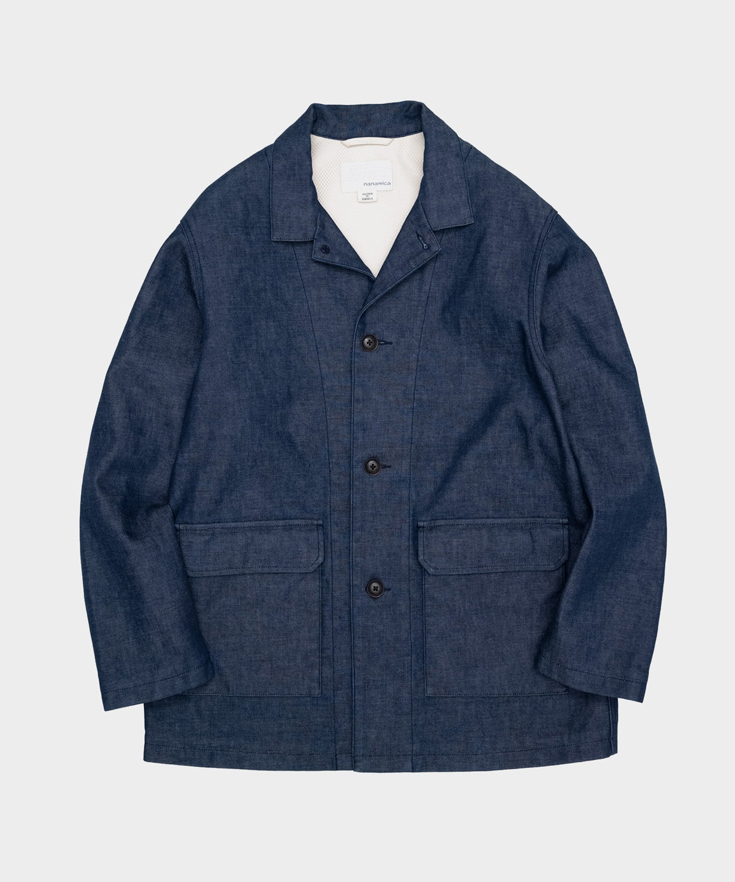 Nanamica Denim Field Jacket in Indigo
