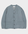 Nanamica Breath Tune Cardigan in Grey