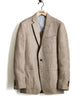 Linen Herringbone Sutton Sport Coat in Brown Alternate Image