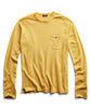 Cashmere T-Shirt in Marigold Alternate Image