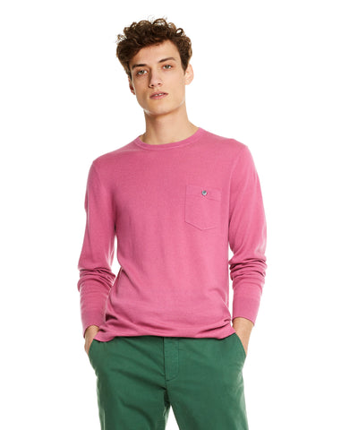 Cashmere T-Shirt in Mauve