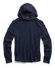 Cashmere Popover Hoodie in Navy Alternate Image