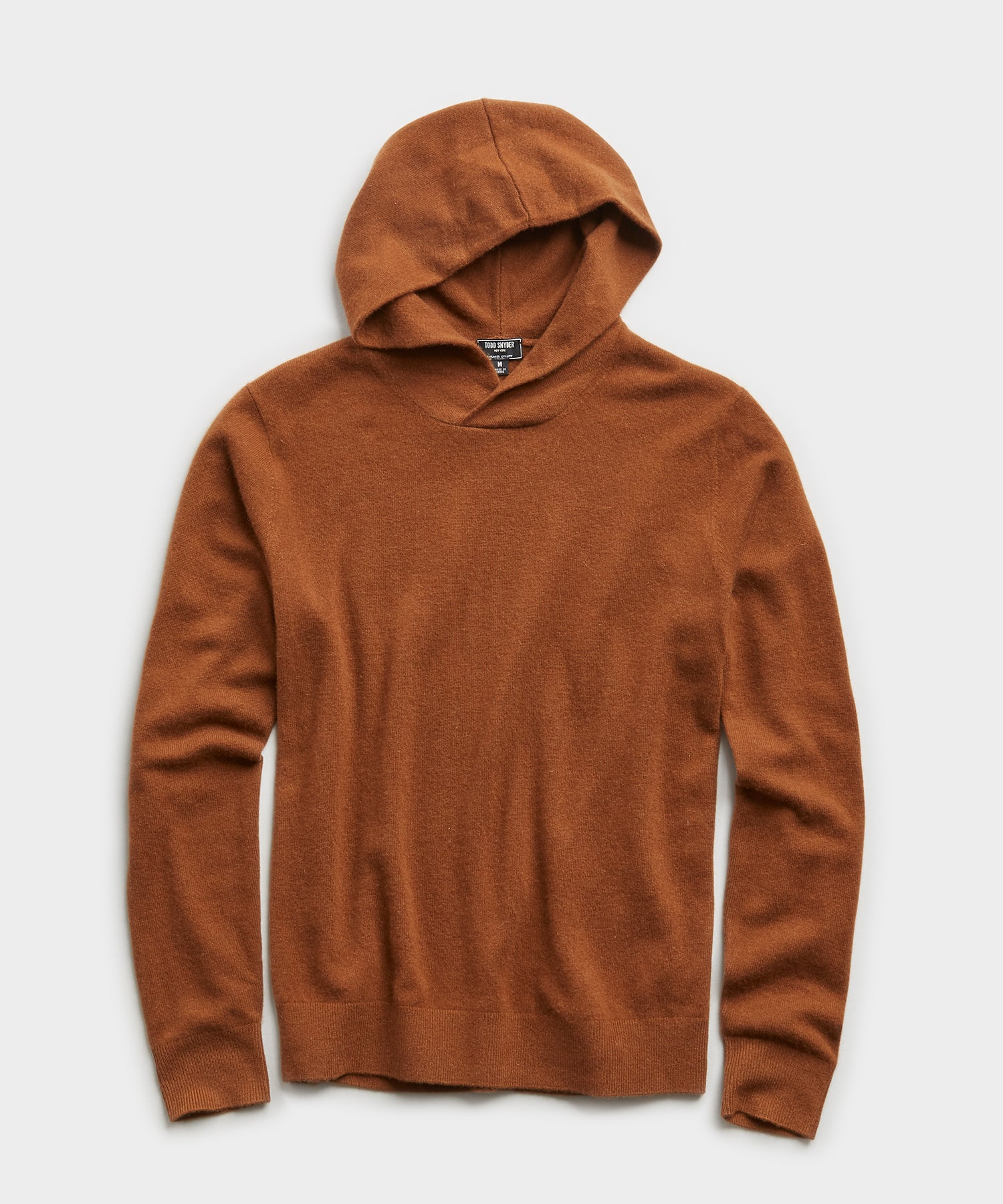 Cashmere Hoodie in Toasted Almond