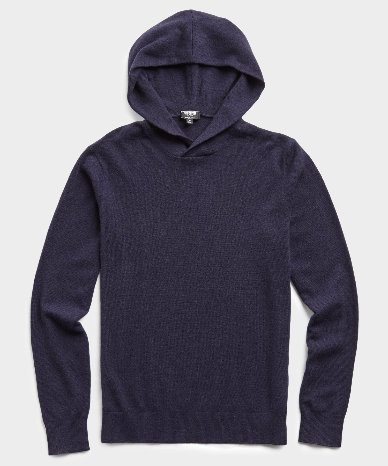 Cashmere Hoodie in Navy