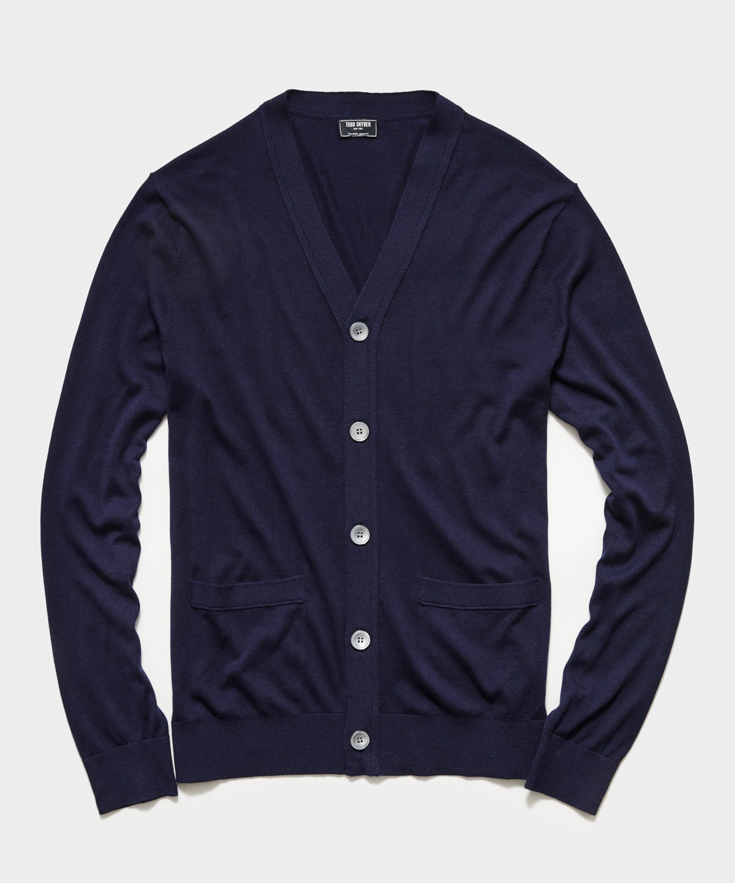 Todd Snyder Cotton Silk Cardigan