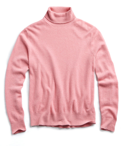 Cashmere Turtleneck in Pink
