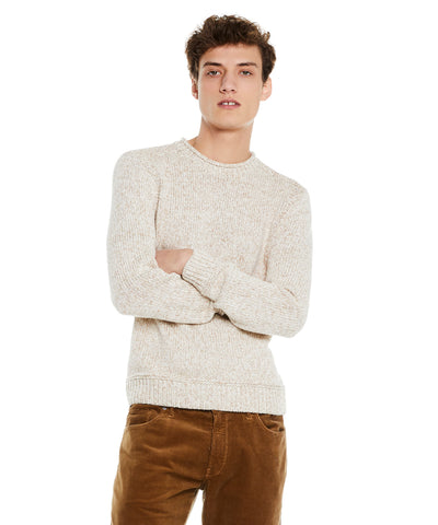 Cotton Cashmere Rollneck in Cream