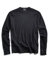 Cotton Crewneck in Black