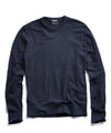 Cotton Crewneck in Navy