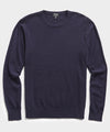 Cashmere Crewneck Sweater in Navy