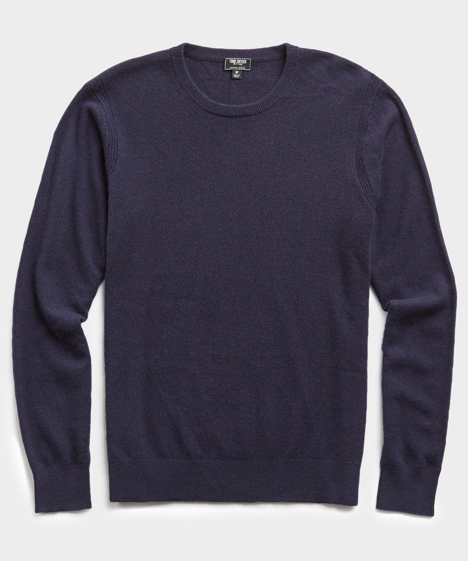 Cashmere Crewneck in Navy