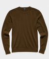 Cashmere Crewneck Sweater in Olive