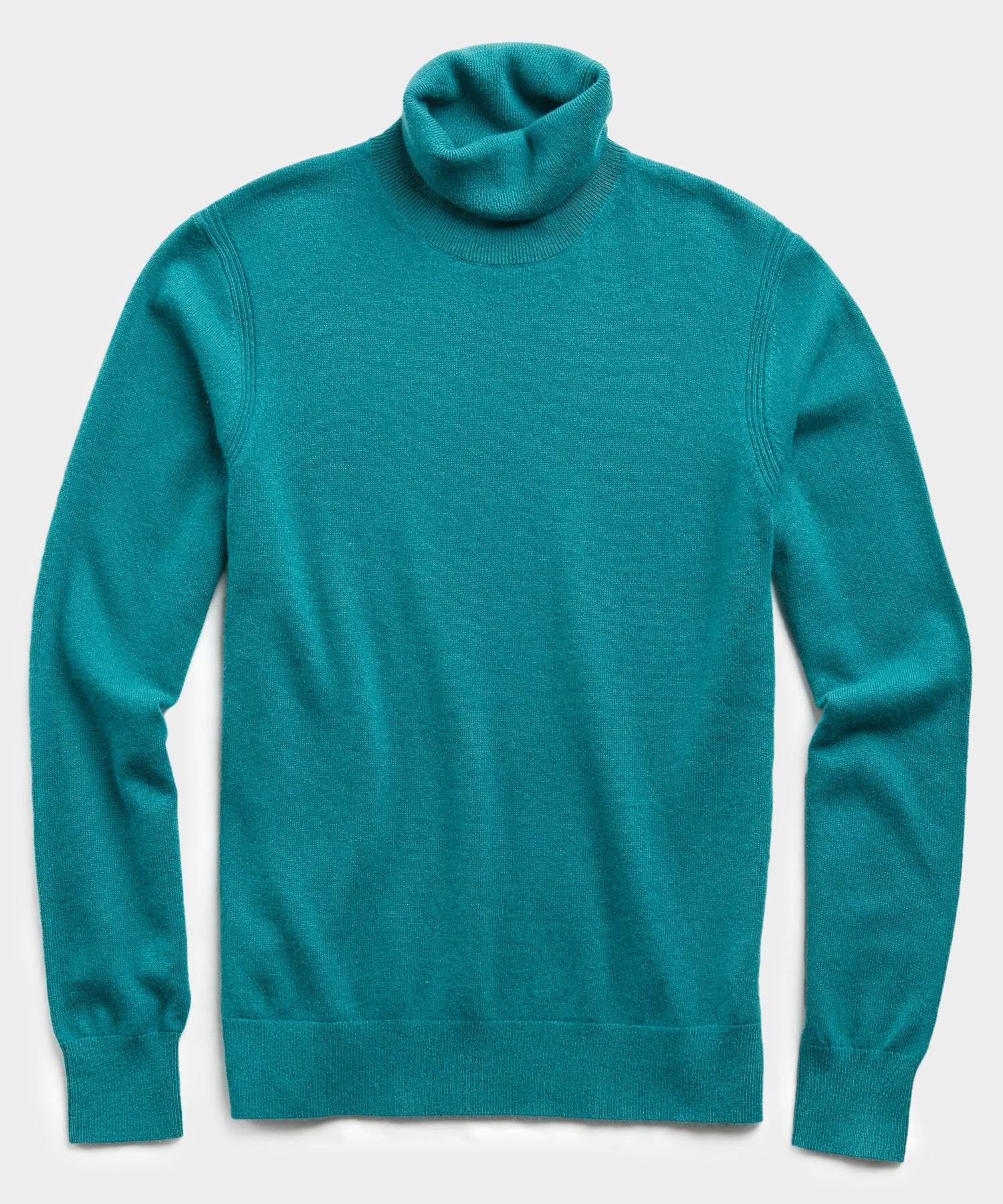 Cashmere Turtleneck in Teal