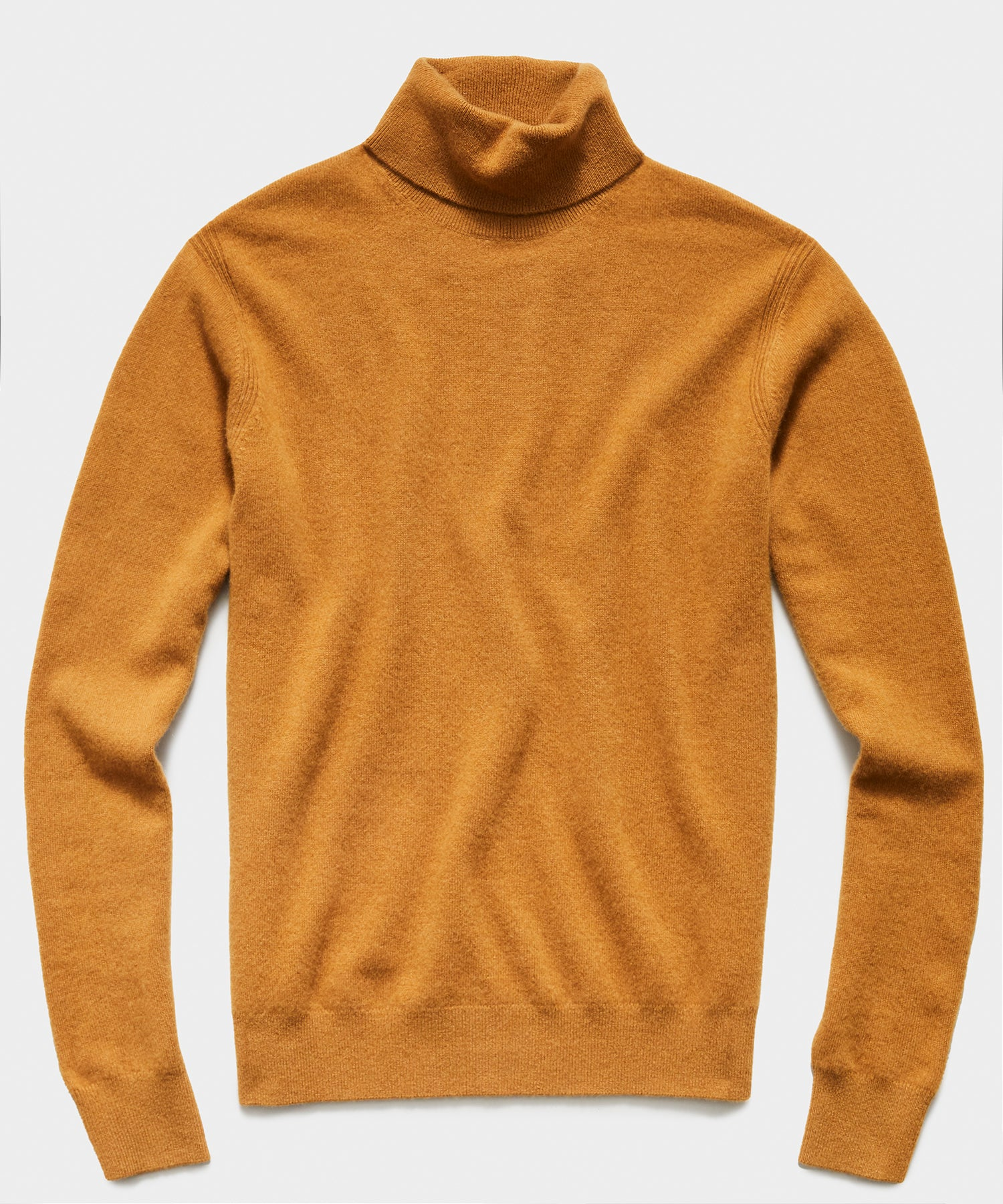 Cashmere Turtleneck in Brown