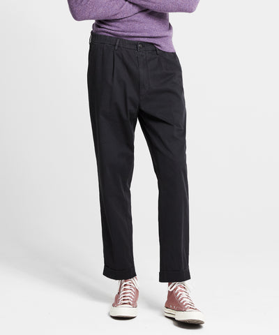 The Pleated Pant in Black