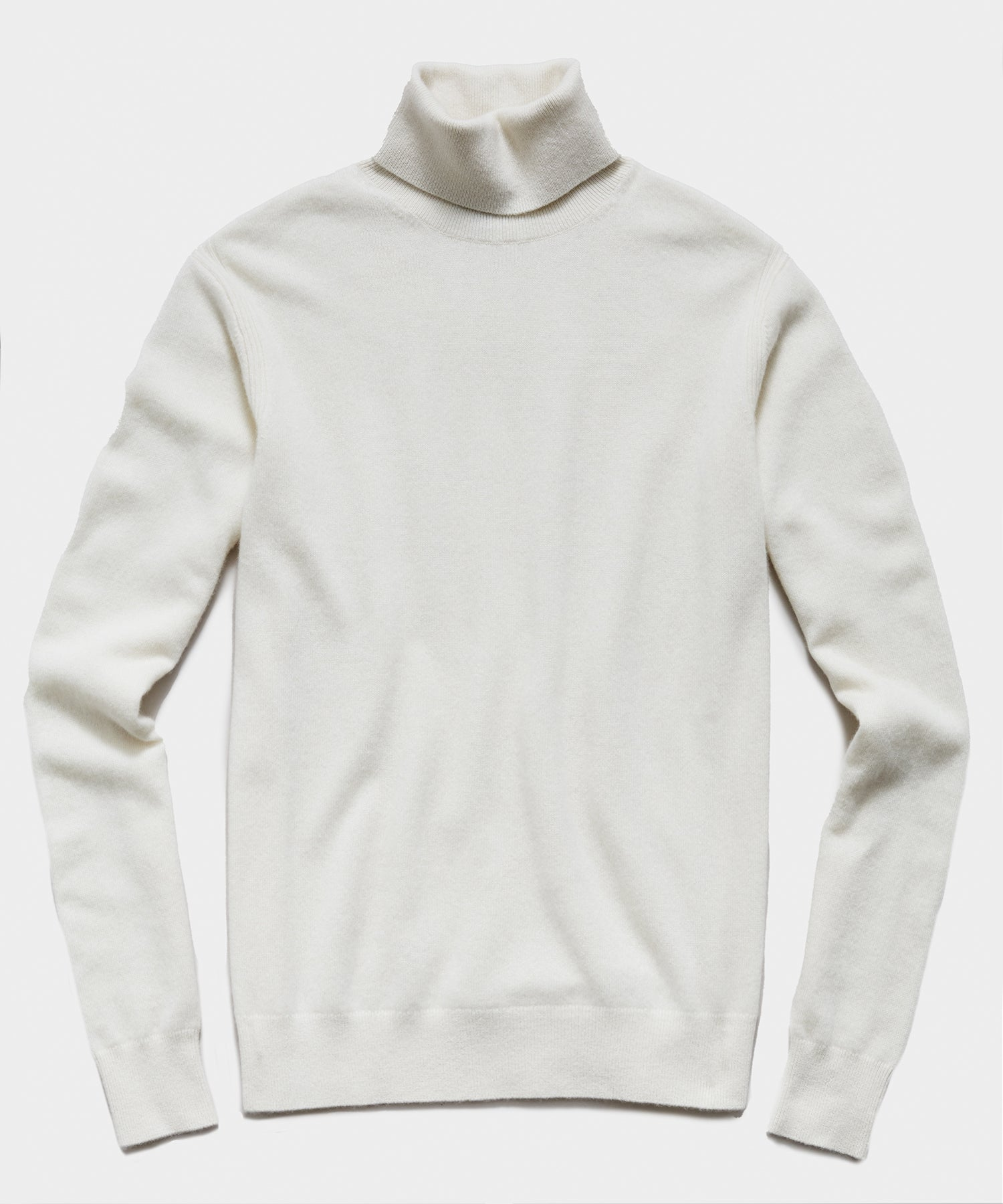 Cashmere Turtleneck in Cream