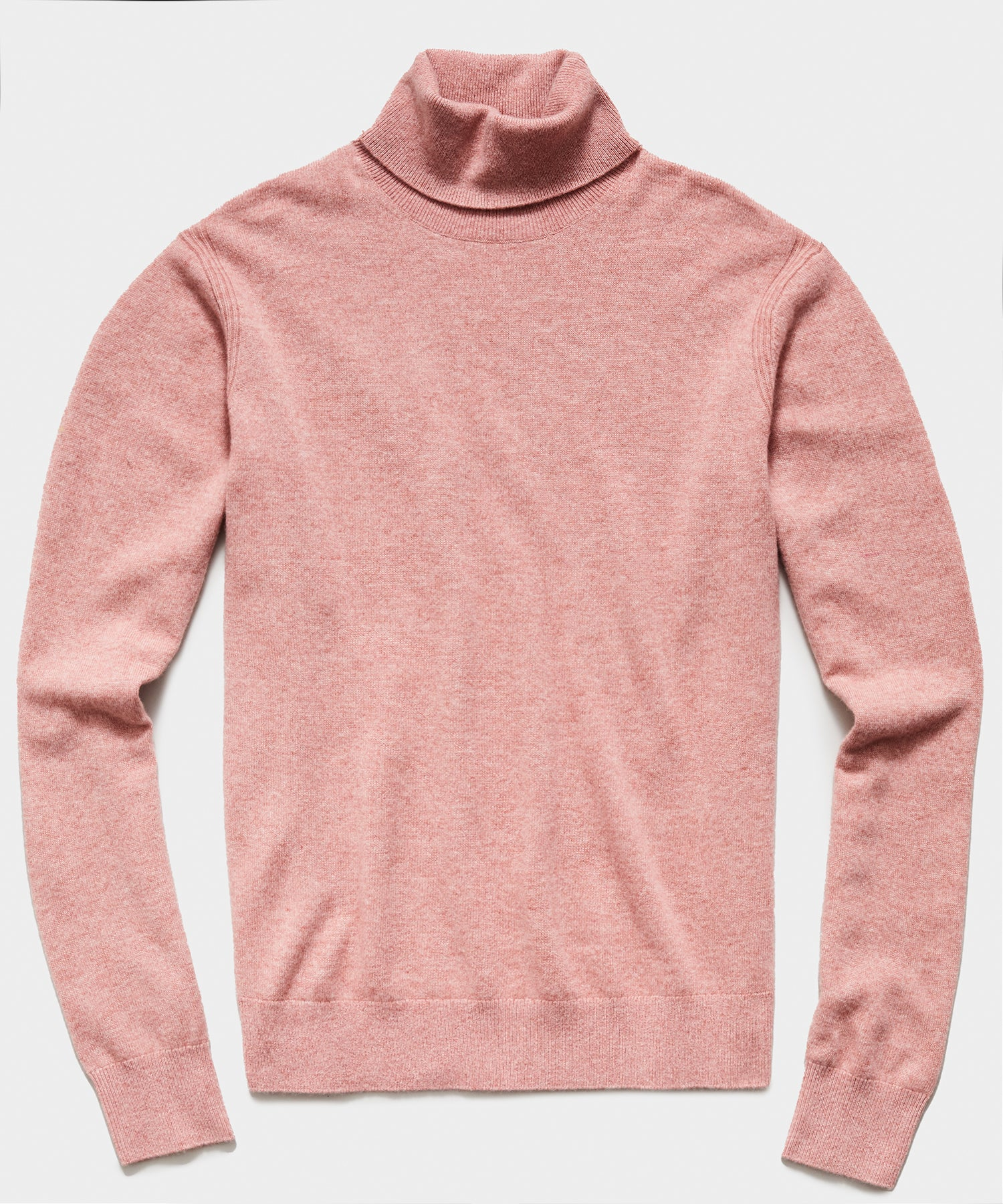 Cashmere Turtleneck in Mauve