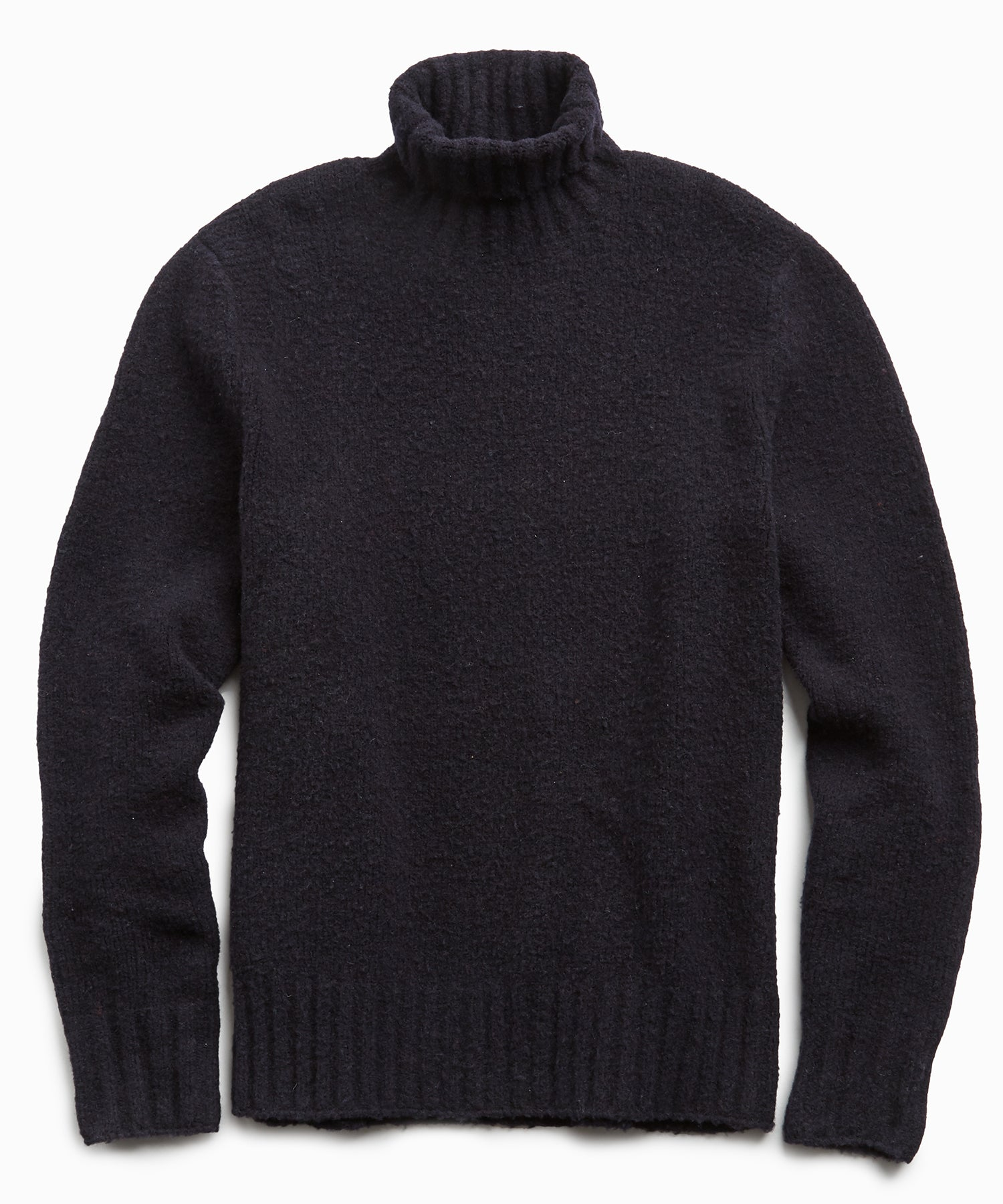 Chunky Turtleneck in Navy
