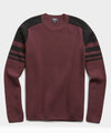 Merino Ski Sweater in Burgundy