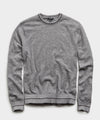 Textured Tipped Sweater in Heather Grey