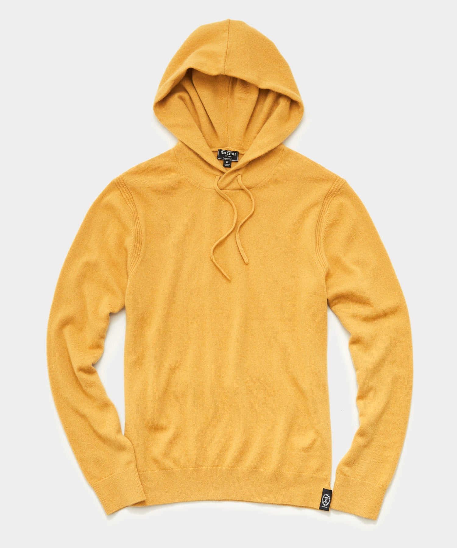 Cashmere Hoodie in Curry