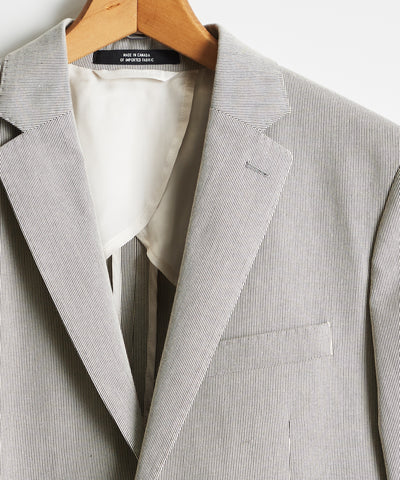 Sutton Fine Corded Suit Jacket in Navy