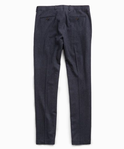 Sutton Wool Donegal Trouser in Navy
