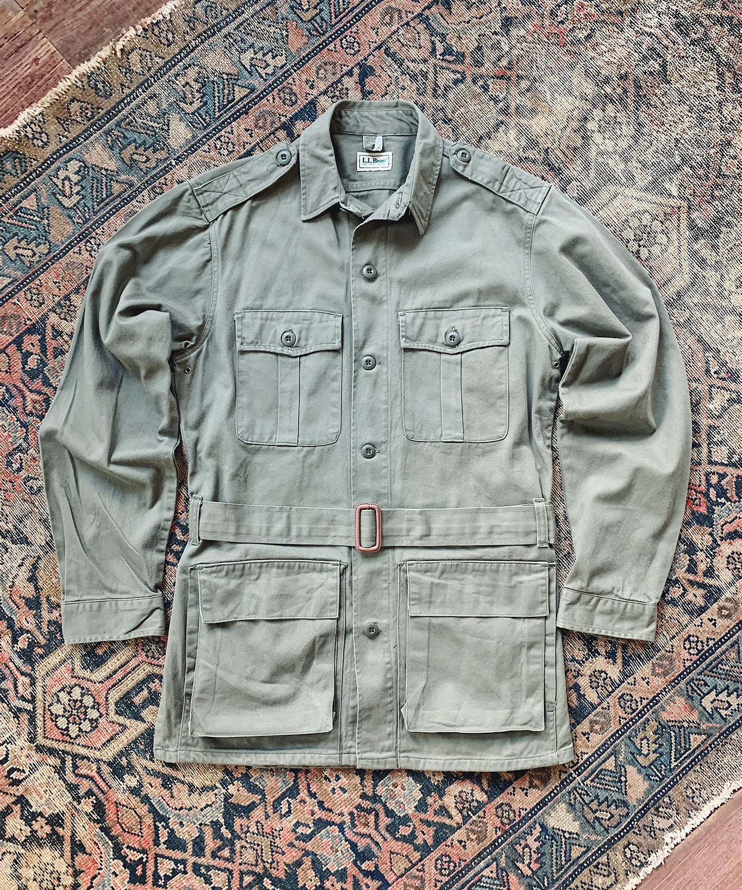 Item #23 - Todd Snyder x Wooden Sleepers 1980's Safari Jacket in Olive