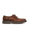 Exclusive Alden + Todd Snyder Plain Toe Blucher in Reverse Tobacco Chamois