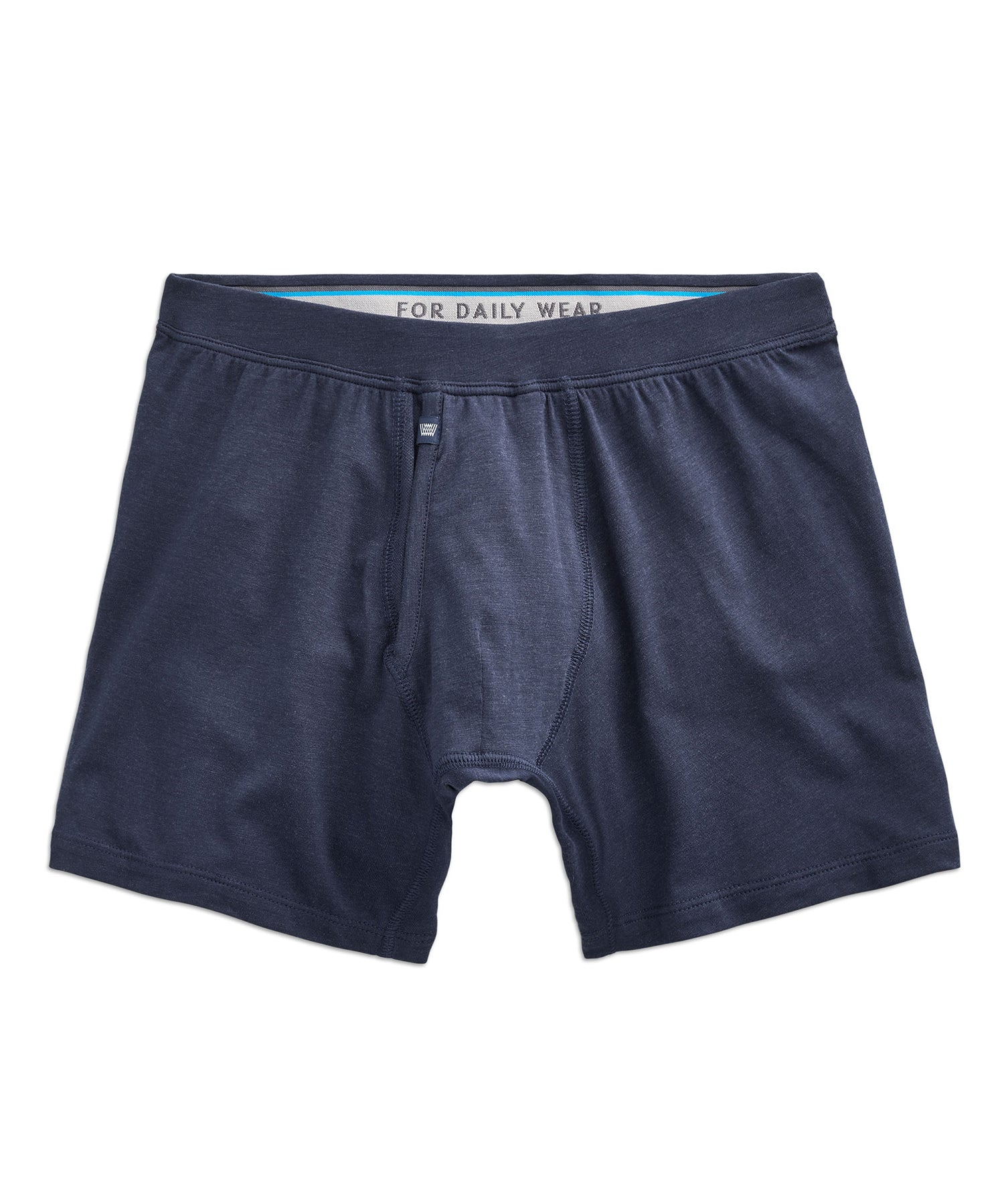 Mack Weldon Silver Boxer Brief in Navy