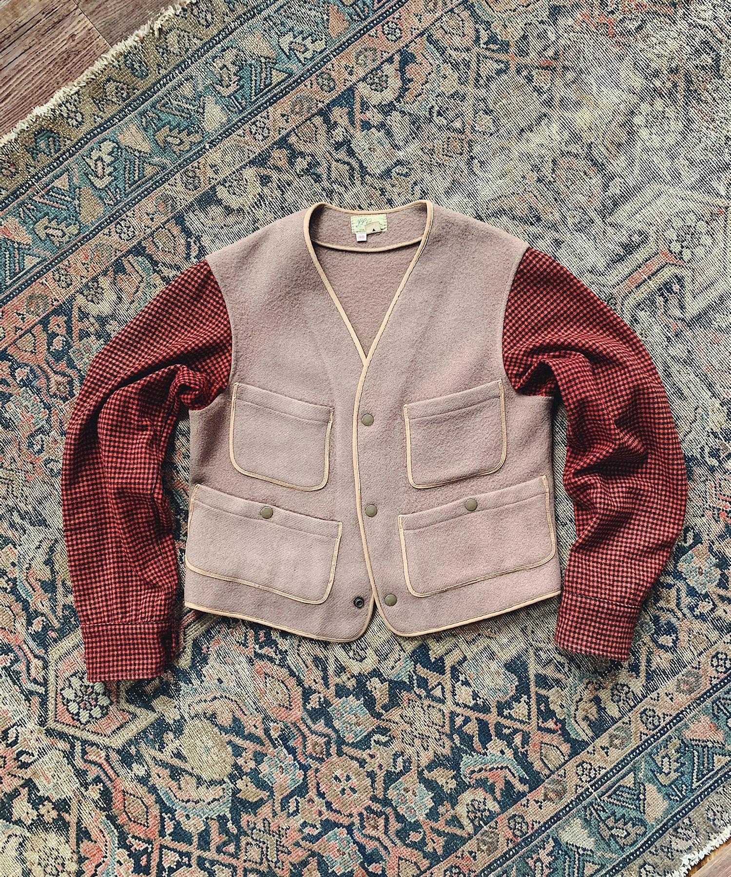 Item #24 -  Todd Snyder x Wooden Sleepers 1960's Sport Vest in Brown - SOLD OUT
