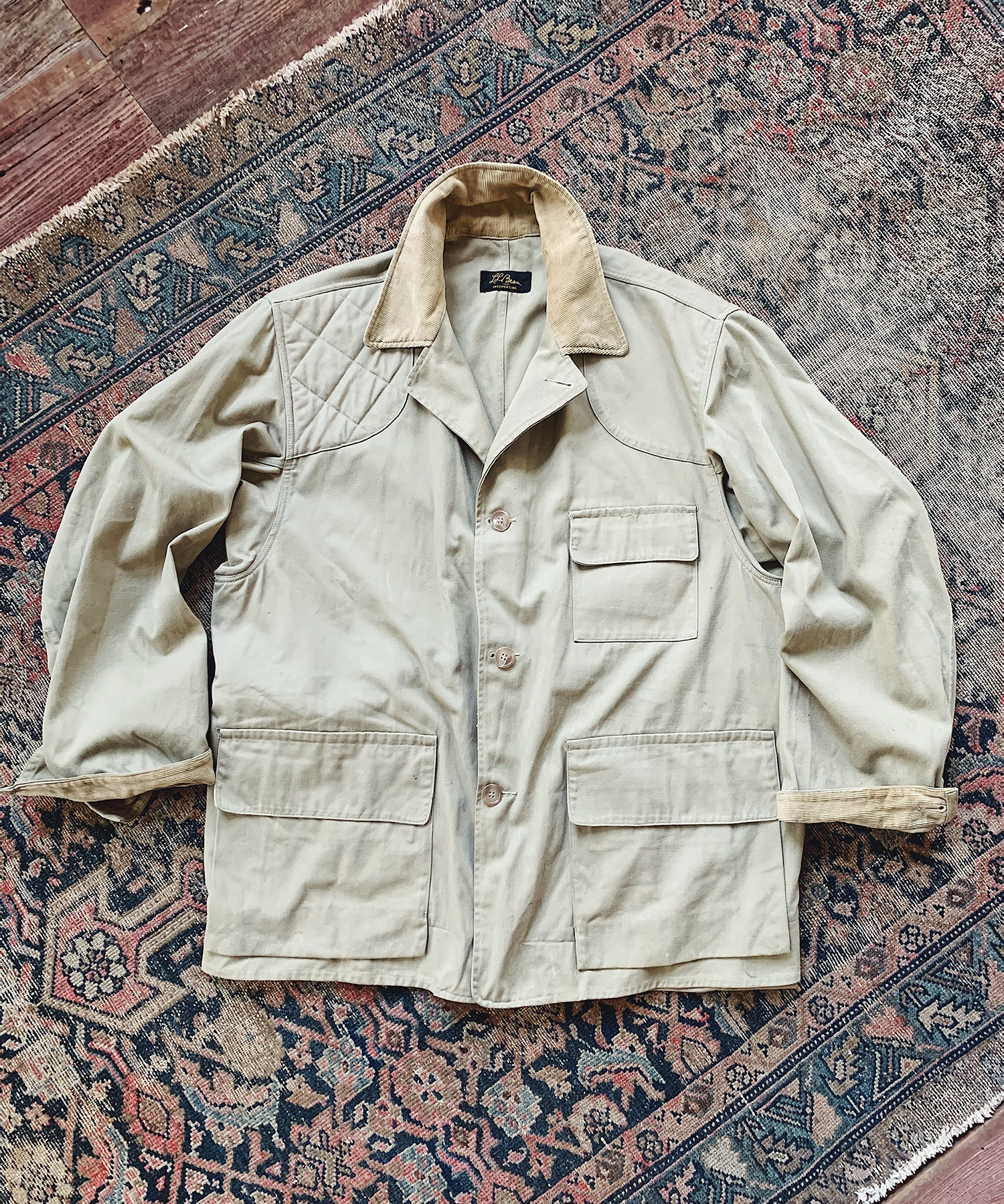 Item #26 - Todd Snyder x Wooden Sleepers 1950's Sportsman Jacket in Tan- SOLD OUT