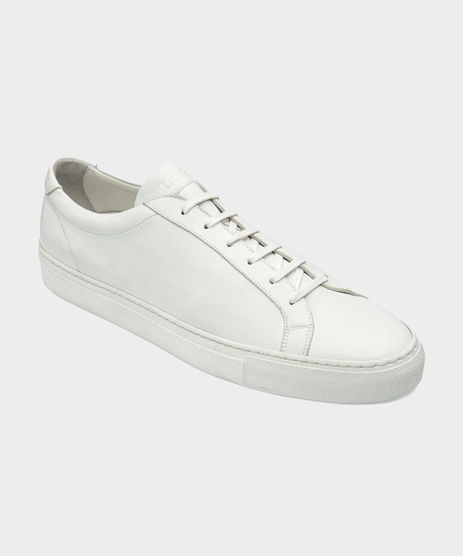 Loake Spirit Leather Sneaker in White