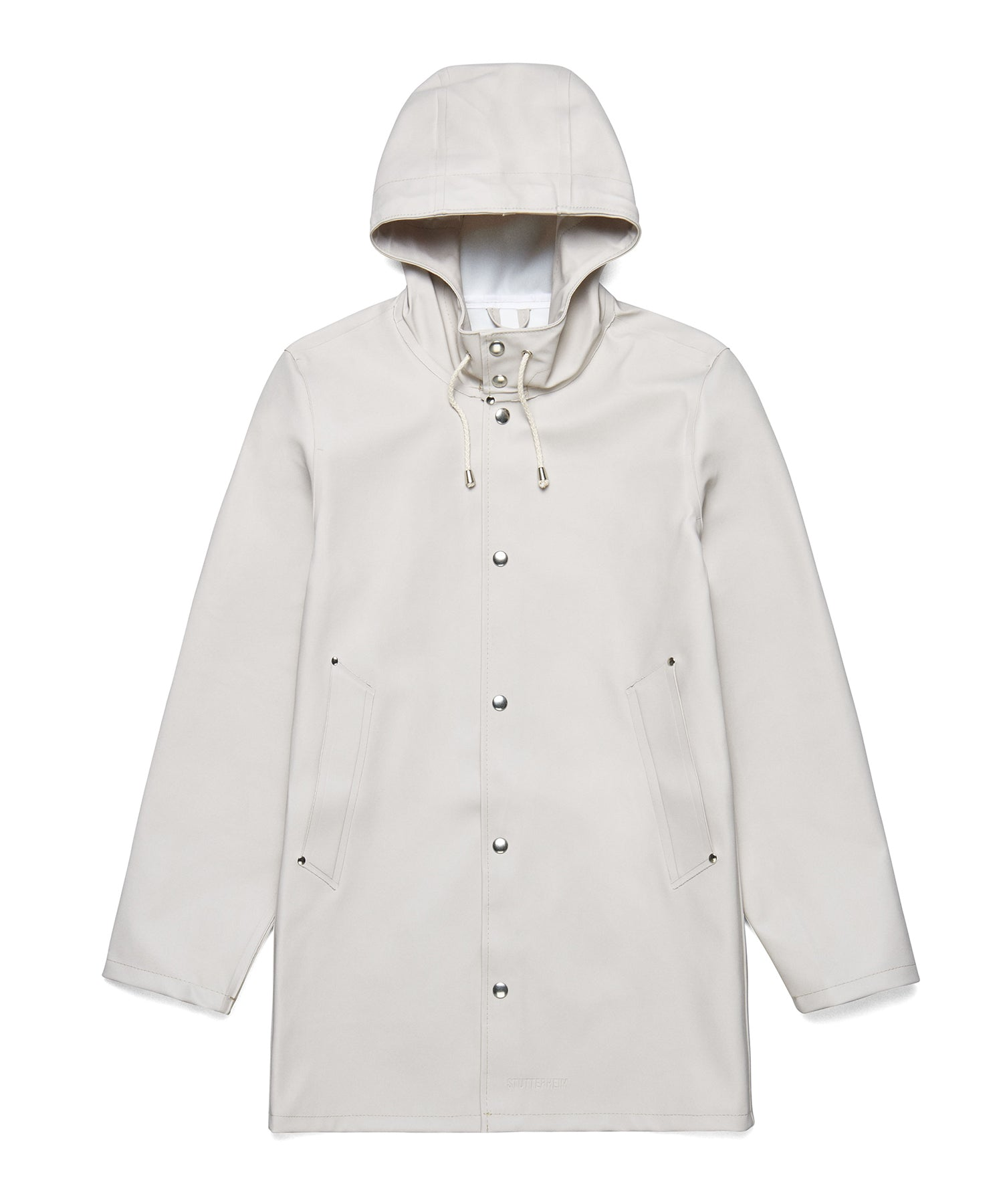 Stutterheim Stockholm Basic Raincoat Light Sand