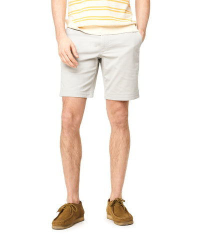 "9"" Stretch Chino Surplus Short in Stone"