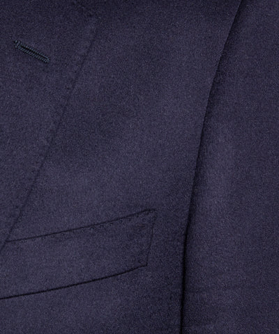 Italian Cashmere Sutton Suit Jacket in Navy