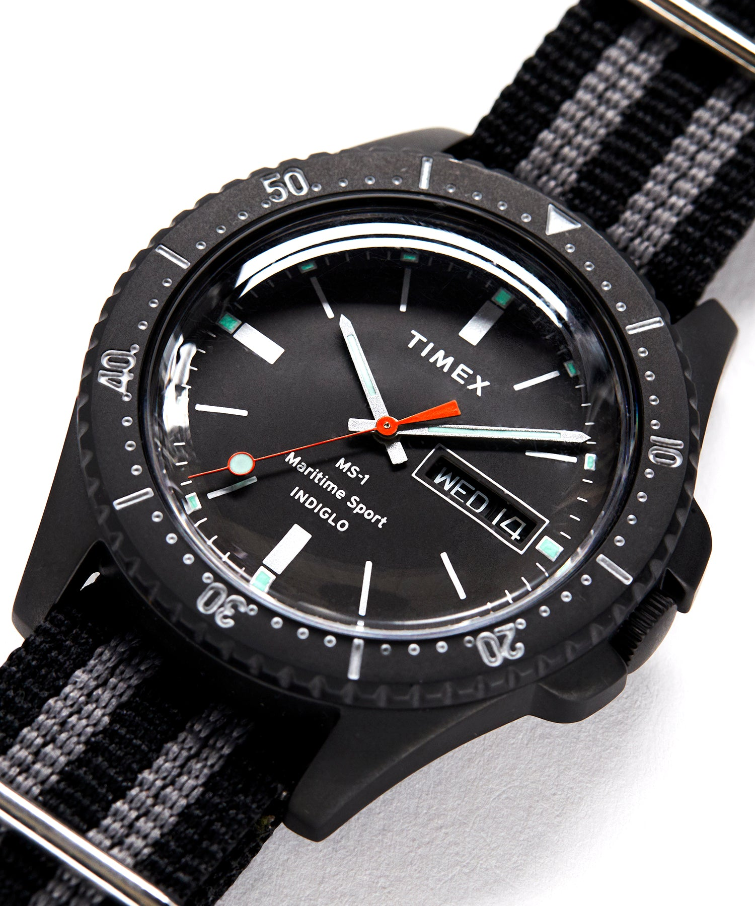 Timex + Todd Snyder Maritime Sport MS1 Watch in Black 41mm