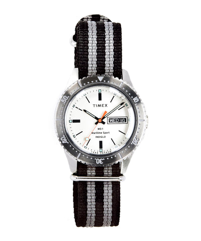 Timex + Todd Snyder Maritime Sport MS1 Watch in Silver