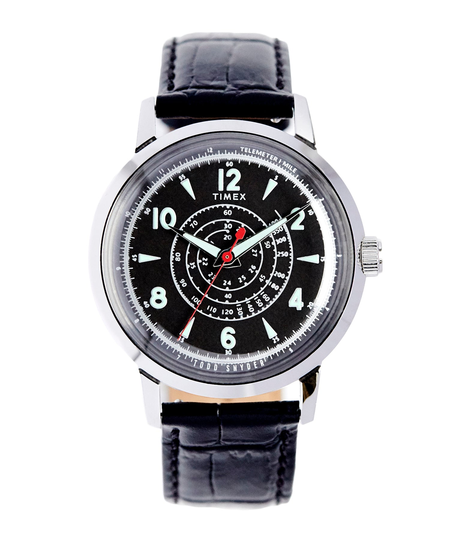 Timex + Todd Snyder Beekman Watch in Black