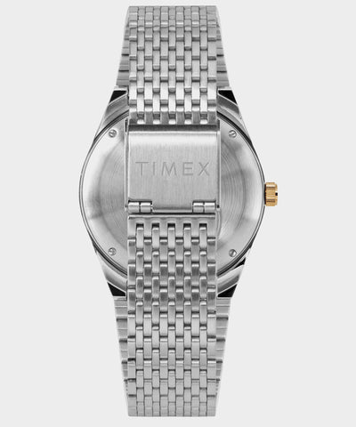 Q Timex Reissue Falcon Eye 38mm Stainless Steel Bracelet Watch