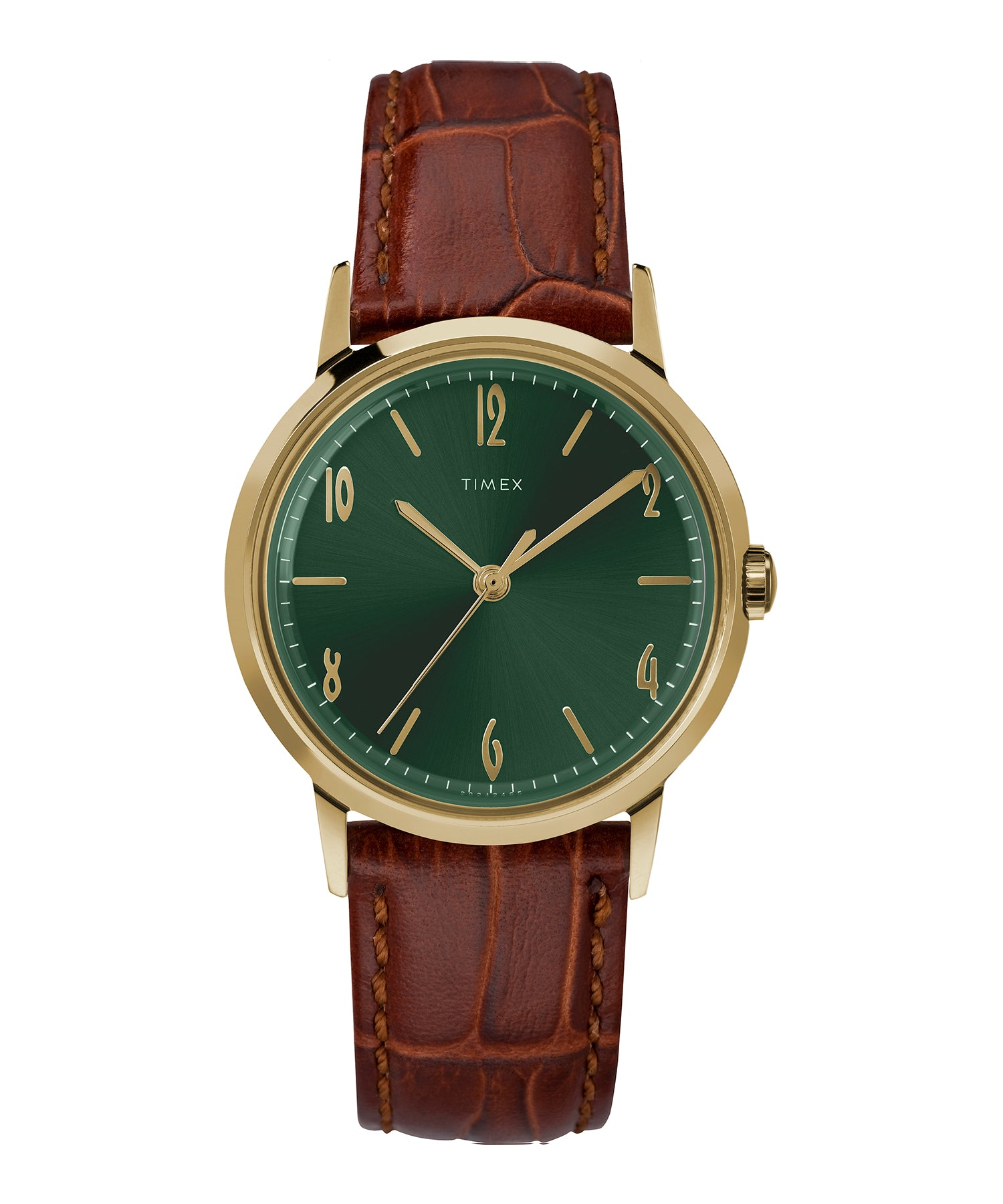 Exclusive Timex + Todd Snyder Marlin Watch in Olive 34mm