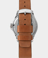 Timex Navi XL Automatic 41mm Leather Strap Watch in Brown