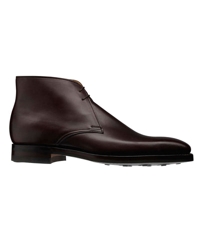 Crockett and Jones Tetbury Calf Boot in Dark Brown