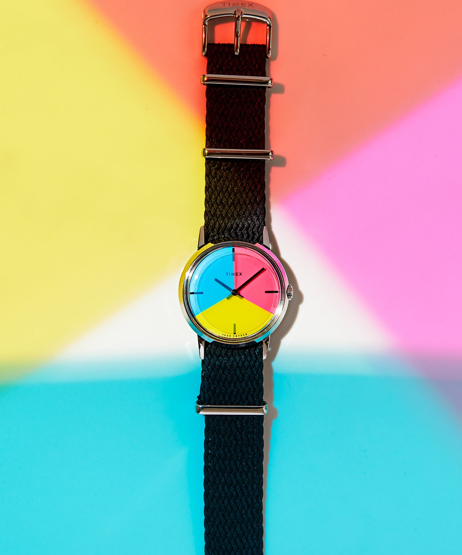 Exclusive Todd Snyder X Timex Pride Watch