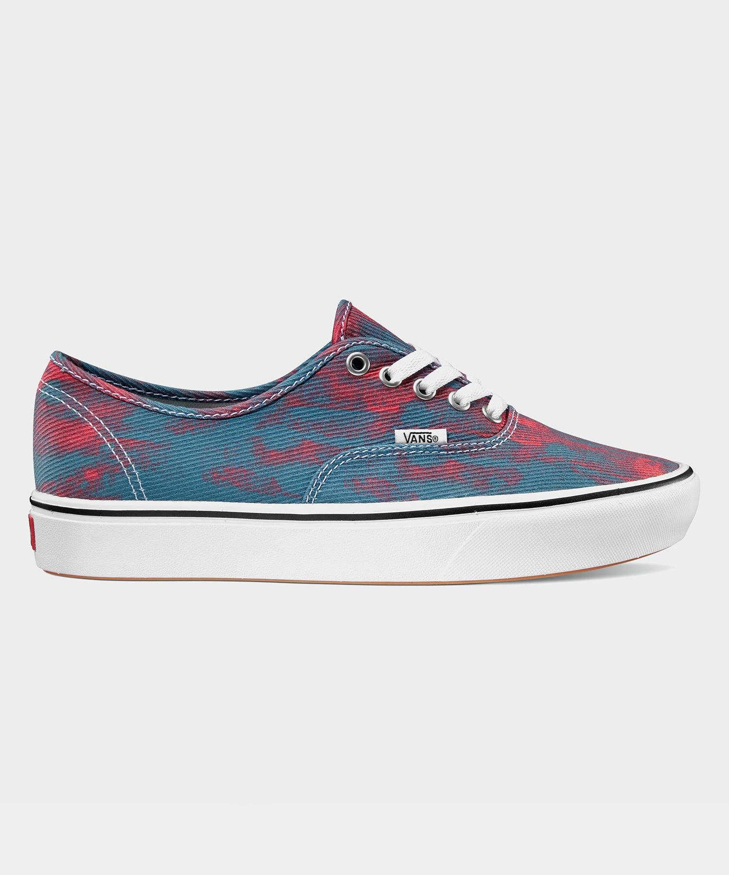VANS COMFYCUSH AUTHENTIC IN BLUE/RED TIE-DYE