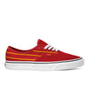 Vans Authentic Sport Stripes in Red