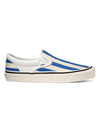 Vans Anaheim Factory Slip-On 98 DX Big Stripes in Blue